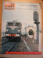 Vie Du Rail 980 1965 Dijon Prince Philip Viot Eléfant Mata Hari Gare Du Nord La Forge Walbach Metro Paris Cluny - Trains