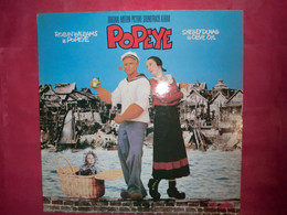 LP33 N°8958 - POPEYE - HARRY NILSSON - 518002 - VG 408 - B.O.F. - Filmmuziek