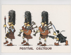 Humour - Mam-Goz Attitude, Festival Celtique (kilt Parapluie Regard Sous La Jupe) Celtik Diffusion - Bretagne