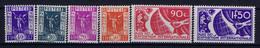 France: Yv 322 - 327 MNH/** Sans Charniere. Postfrisch 1936 Exposition Internationale De Paris - Nuovi