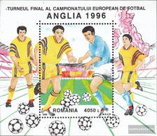 Romania Block300 (complete Issue) Unmounted Mint / Never Hinged 1996 Football-european Championship In England - Ungebraucht