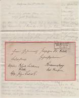 Feldzug 1870/71 - K.Pr. Feldpost Relais No.28 15/11 Ra3 Feldpostbrief 1870 - Covers