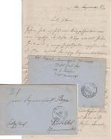 Feldzug 1870/71 - K.Pr.Feld-Post-Exp. 14.Inf.Dif. 29/10 K1 Feldpostbrief 1870 - Covers