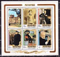 Aitutaki 1974 Churchill I Foglietto Nuovo MNH** - America (Other)