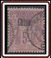 Chine Bureau Français - N° 16 (YT) N° 11 (AM) Type II Oblitéré. - Gebraucht