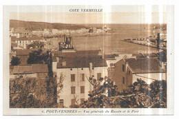 Port Vendres Vue Générale Du Bassin Et Le Port - Port Vendres