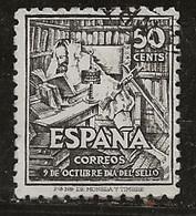 Espagne 1947 N° Y&T :  759 Obl. - 1931-50 Gebraucht