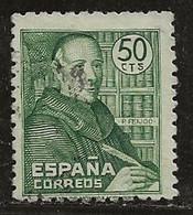 Espagne 1947 N° Y&T :  761 Obl. - 1931-50 Gebraucht