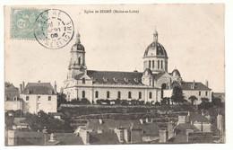 CPA - Eglise De Segre 49 - 1905 - Segre
