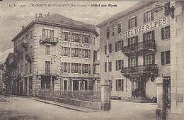 74 CHAMONIX MONT BLANC HOTEL HOTEL DES ALPES Editeur FAURAZ ANNEMASSE GR 597 - Chamonix-Mont-Blanc