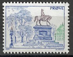 Test Stamp, Specimen, Prove, Probedruck, Reiterstandbild, Slania 1980 - 1985 - Prove E Ristampe