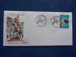 San Martin Bicentenaire De L'indépendance De L'Amérique Latine Boulogne Signature Du Dessinateur Bruno Ghys - Ohne Zuordnung