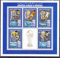 Soccer World Cup 1994 - MAURITANIE - Sheet MNH - 1994 – Verenigde Staten