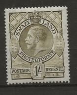 Swaziland, 1933, SG 17, Mint Hinged - Swaziland (...-1967)