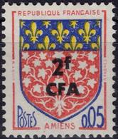 REUNION CFA Poste 344 ** MNH Armoirie Wappen Coat Of Arms Blason écu AMIENS Picardie - Nuevos