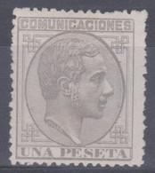 1878 ALFONSO XII EDIFIL 197 1 PESETA Catalogo 112€ - Nuevos