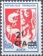 REUNION CFA Poste 373 ** MNH Armoirie Wappen Coat Of Arms Blason écu  AUCH Gascogne 1967 - Nuevos