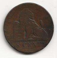BELGIQUE - 5 Centimes - 1833 - TB/TTB - 03. 5 Centimes