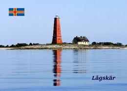 Aland Islands Lagskar Island Lighthouse New Postcard Ålandinseln Leuchtturm AK - Finlandia