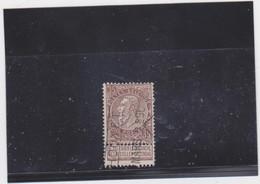 Belgie Nr 61 Houyet (treinstempel ??) - 1893-1900 Thin Beard