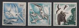 Monaco - 1957 - Poste Aérienne PA N°Yv. 66 à 68 - Oiseaux - Neuf Luxe ** / MNH / Postfrisch - Airmail