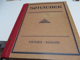 Altes SCHAUBEK VIKTORIA BRIEFMARKEN ALBUM Ausgabe 1932 Mit O /  * /  Und  Wenigen  ** /  MARKEN - Collections (with Albums)
