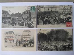 BRIVE, Foires Et Marchés, Lot 4 CP - Brive La Gaillarde