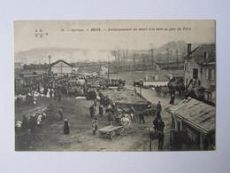 BRIVE, Embarquement Bétail à La Gare Un Jour De Foire - Brive La Gaillarde