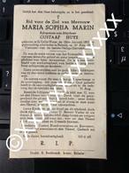 [V] Marin Maria Sophia Huys Gustaaf St Gillis Waas 1893 1949 Belsele - Décès