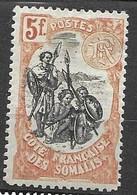 Cote Des Somalis 1915 8,50 Euros Mh Nc * Signed - Ongebruikt