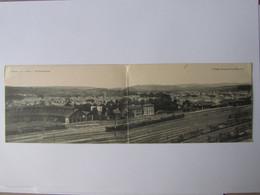 BRIVE, Gare, Vue Panoramique, Double Carte - Brive La Gaillarde