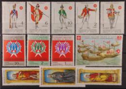 SMOM - Annata Nuova Completa E Perfetta: 1971 - 12 Valori - Malta (Orden Von)