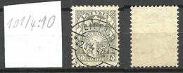 Lettland Latvia 1929 Michel 152 Perf 10 1/4: 10 INVERTED WM O - Lettonia