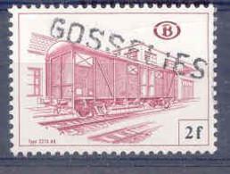 A445 -België  Spoorweg Chemin De Fer  Met Stempel GOSSELIES Naamstempel - 1942-1951