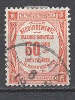 Frankreich , Portomarke Nr . 39 Gestempelt - 1859-1955 Afgestempeld