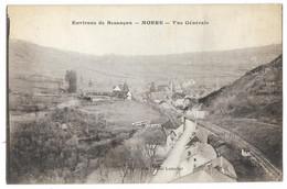 Cpa: 25 MORRE (ar. Besançon)  Vue Générale  1917  Ed. Hôtel Lemuhot - Otros Municipios