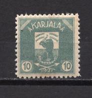 1921 FINLAND,KARJALA,MNH - Unused Stamps