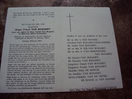 Doodsprentje/Bidprentje Roger F. VAN BOGAERT(Zn Achiel & Maria) Zwijndrecht 1944 - 1964 Burcht Soldaat Milicien 1964 - Religion & Esotericism