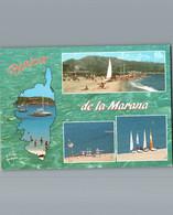 2B- Haute Corse - La Plage De La Marana - Cpm - Multivues 4 - Non Classificati