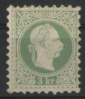 AUTRICHE N° 33 Cote 175 € Neuf * (MH) Impression Grossière De 1867, Dentelé 9 1/2. TB - Nuevos