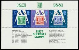 GUERNSEY HEFTCHENBLATT Nr HB34-HB36 Postfrisch HB S013812 - Guernsey