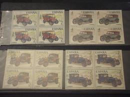 SPAGNA - 1977 AUTO 4 VALORI, In Quartine - NUOVI(++) - 1971-80 Unused Stamps