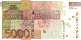 SLOVENIA P. 33b 5000 T 2004 UNC - Slovenia