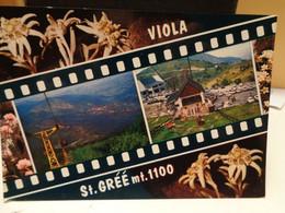 Cartolina Viola St Gree Prov Cuneo   Seggiovia - Cuneo