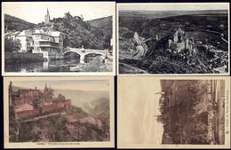 Luxembourg, Luxemburg  Vianden 4 Cartes-Vues  Anciennes, Différentes Vues - Vianden