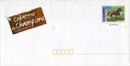 """PAP De 2003 Avec Timbre """"LE TROTTEUR"""" Et Illustration """"CREATEUR DE CHAMPIONS - L'Orne En Normandie"""" - Listos A Ser Enviados: Otros (1995-...)"""