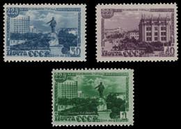 Russia / Sowjetunion 1948 - Mi-Nr. 1298-1300 A ** - MNH - Swerdlowsk - Ungebraucht