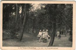 41hr 1525 CPA - LE TOUQUET PARIS PLAGE - EN FORET - LA PROMENADE MATINALE - Le Touquet
