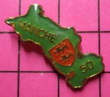 612A Pin's Pins : BEAU ET RARE / THEME : AUTRES / DEPARTEMENT DE LA MANCHE NORMANDIE - Altri