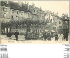 70 VESOUL. Petit Marché Place Du Jardinage 1907 - Vesoul